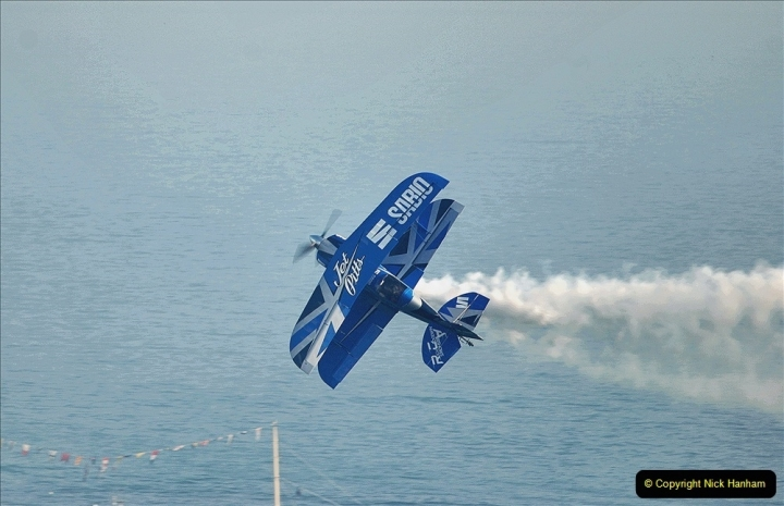 2021-09-03 Bournemouth Air Show Pictures AIR. (229) Super Pits Muscle Plane - Pitts S2S. 229