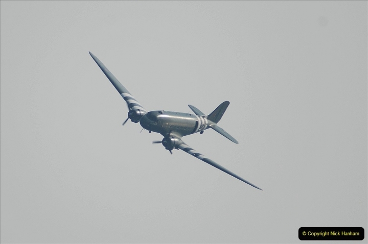 2021-09-03 Bournemouth Air Show Pictures AIR. (27) BBMF Spitfire - Hurricane - DC3 Dakota. 027