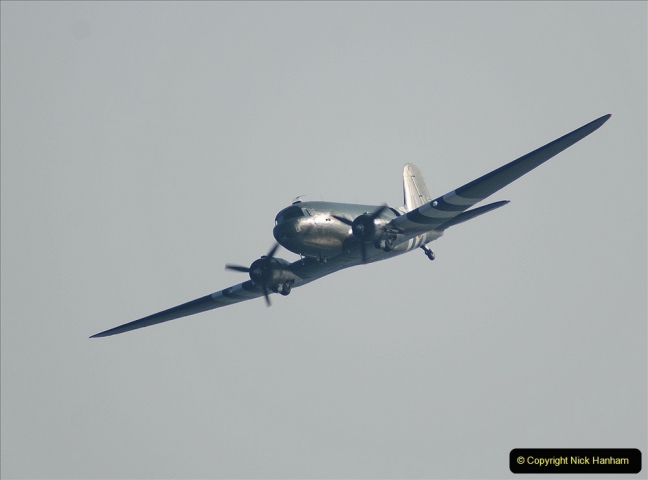 2021-09-03 Bournemouth Air Show Pictures AIR. (29) BBMF Spitfire - Hurricane - DC3 Dakota. 029
