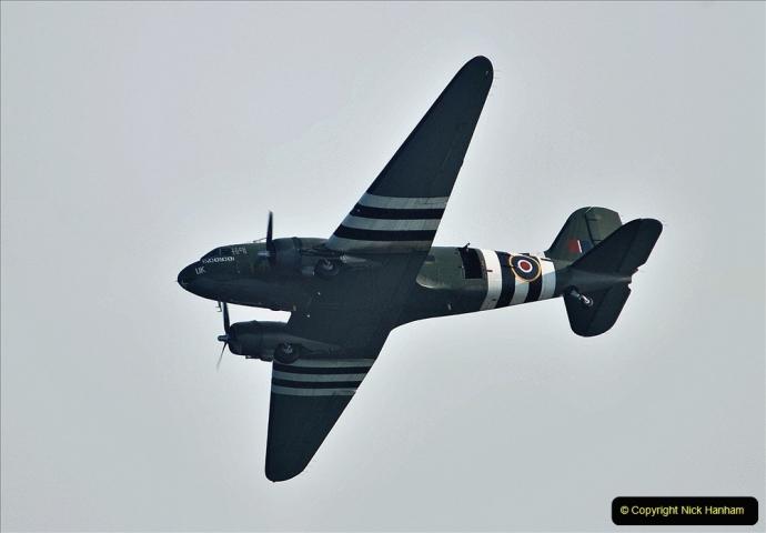 2021-09-03 Bournemouth Air Show Pictures AIR. (30) BBMF Spitfire - Hurricane - DC3 Dakota. 030