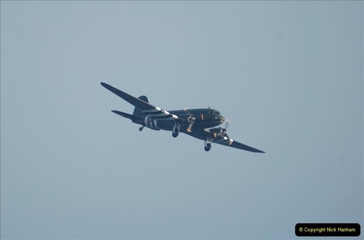 2021-09-03 Bournemouth Air Show Pictures AIR. (32) BBMF Spitfire - Hurricane - DC3 Dakota. 032