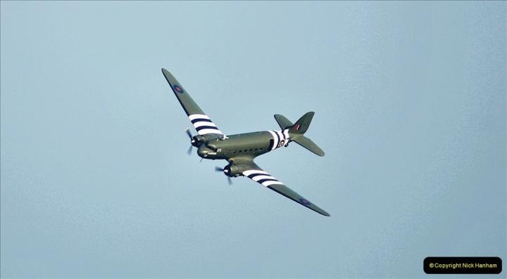 2021-09-03 Bournemouth Air Show Pictures AIR. (33) BBMF Spitfire - Hurricane - DC3 Dakota. 033