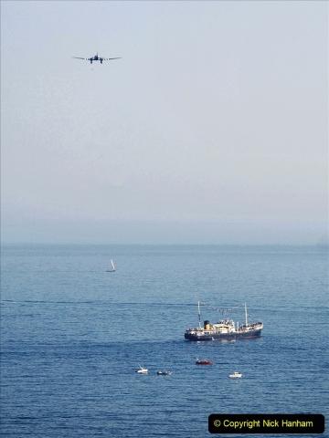 2021-09-03 Bournemouth Air Show Pictures AIR. (35) BBMF Spitfire - Hurricane - DC3 Dakota. 035