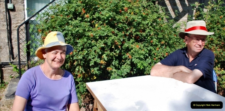 2021-09-04 Bridport Hat Festival. (100) On the Green. 100