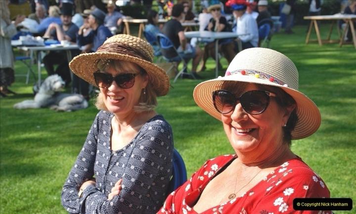 2021-09-04 Bridport Hat Festival. (104) On the Green. 104