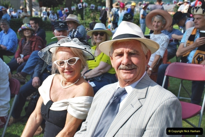 2021-09-04 Bridport Hat Festival. (106) On the Green. 106