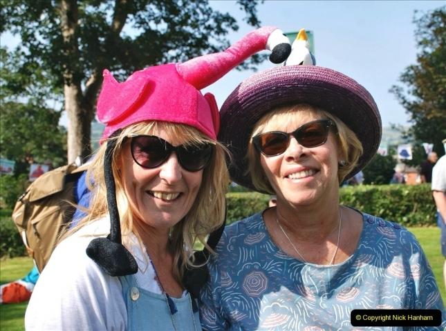 2021-09-04 Bridport Hat Festival. (107) On the Green. 107