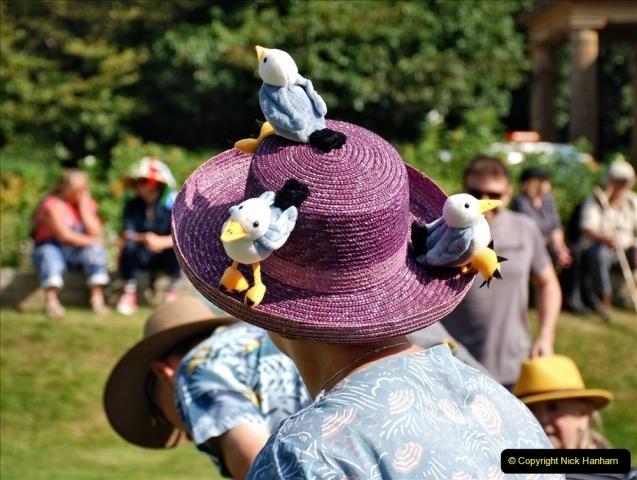 2021-09-04 Bridport Hat Festival. (109) On the Green. 109