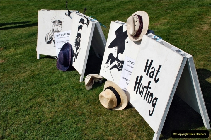 2021-09-04 Bridport Hat Festival. (122) On the Green. 122