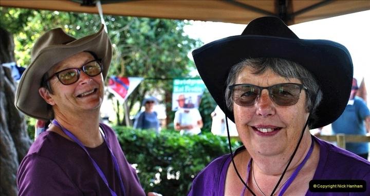 2021-09-04 Bridport Hat Festival. (127) On the Green. 127