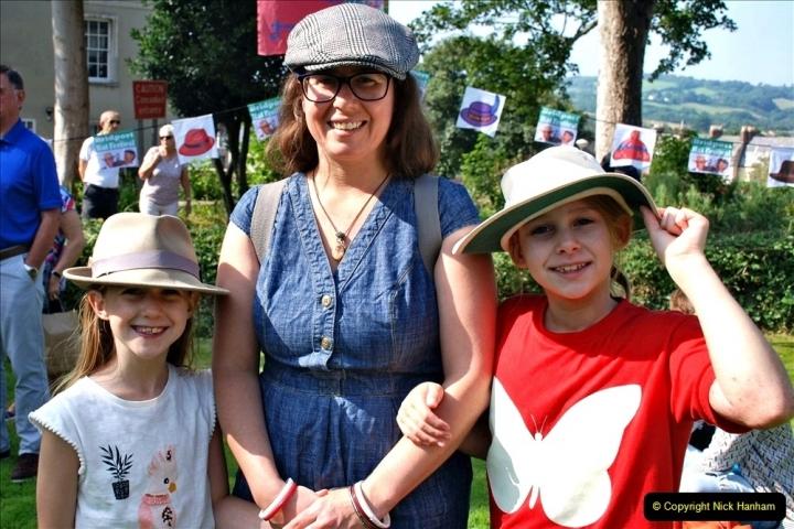 2021-09-04 Bridport Hat Festival. (130) On the Green. 130