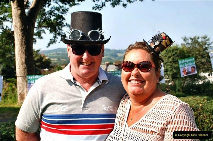 2021-09-04 Bridport Hat Festival. (133) On the Green. 133