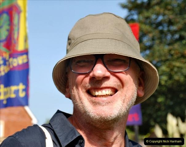 2021-09-04 Bridport Hat Festival. (134) On the Green. 134