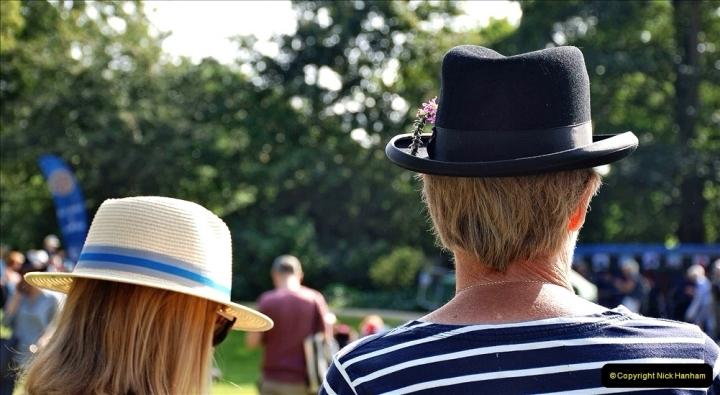 2021-09-04 Bridport Hat Festival. (136) On the Green. 136