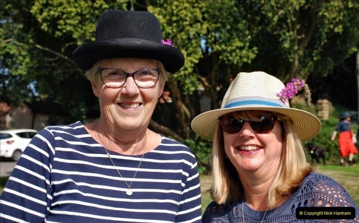 2021-09-04 Bridport Hat Festival. (137) On the Green. 137