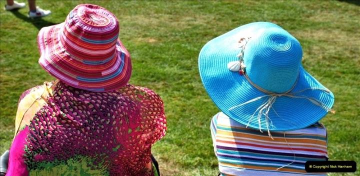 2021-09-04 Bridport Hat Festival. (138) On the Green. 138