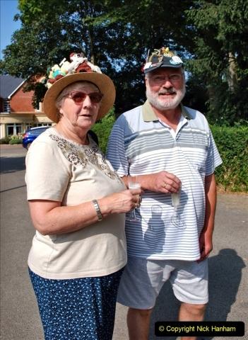 2021-09-04 Bridport Hat Festival. (145) On the Green. 145