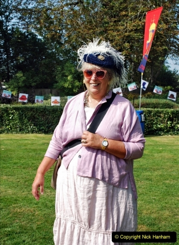 2021-09-04 Bridport Hat Festival. (147) On the Green. 147