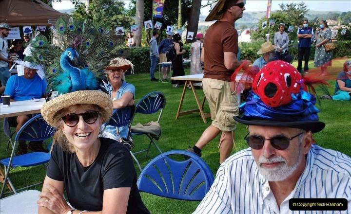 2021-09-04 Bridport Hat Festival. (150) On the Green. 150