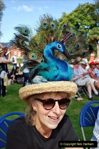 2021-09-04 Bridport Hat Festival. (151) On the Green. 151