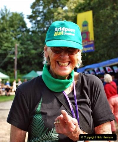2021-09-04 Bridport Hat Festival. (156) On the Green. 156