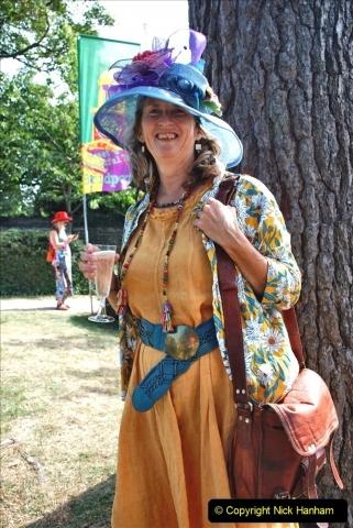 2021-09-04 Bridport Hat Festival. (157) On the Green. 157