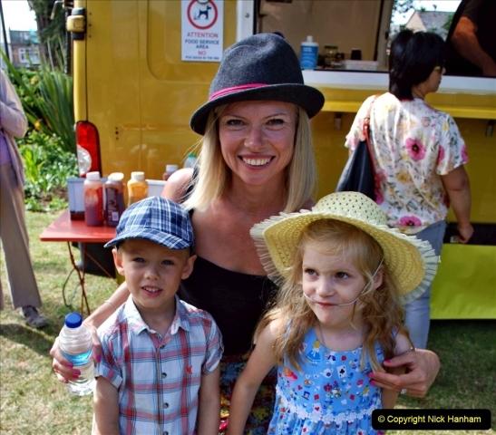 2021-09-04 Bridport Hat Festival. (160) On the Green. 160