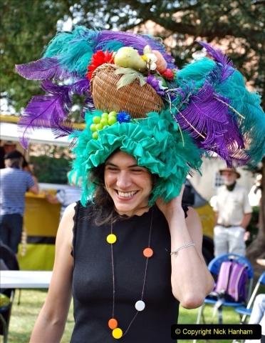 2021-09-04 Bridport Hat Festival. (161) On the Green. 161