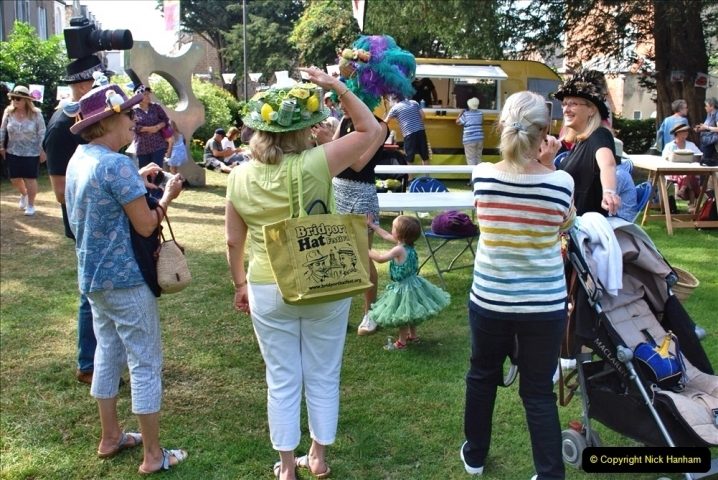 2021-09-04 Bridport Hat Festival. (162) On the Green. 162