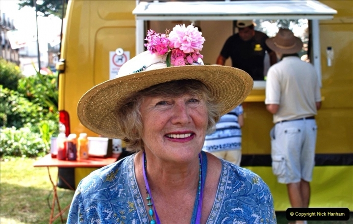 2021-09-04 Bridport Hat Festival. (164) On the Green. 164
