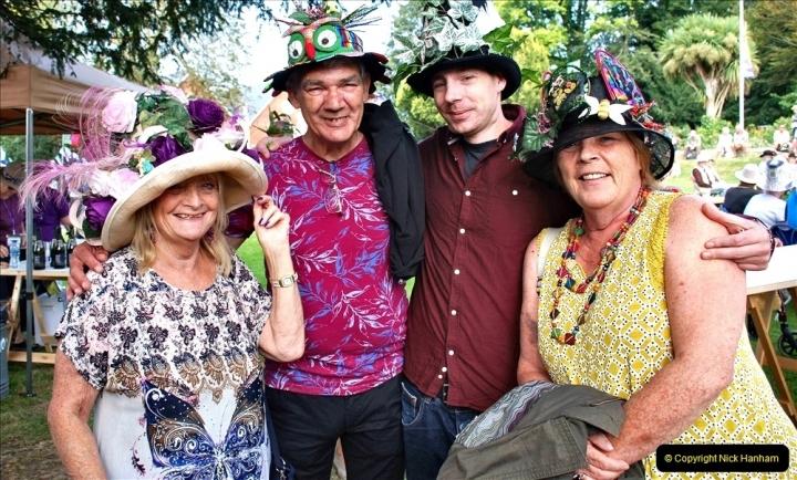 2021-09-04 Bridport Hat Festival. (165) On the Green. 165