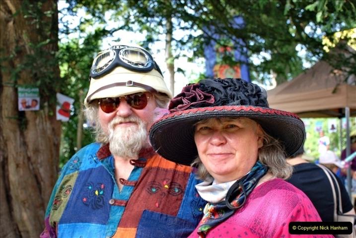 2021-09-04 Bridport Hat Festival. (169) On the Green. 169
