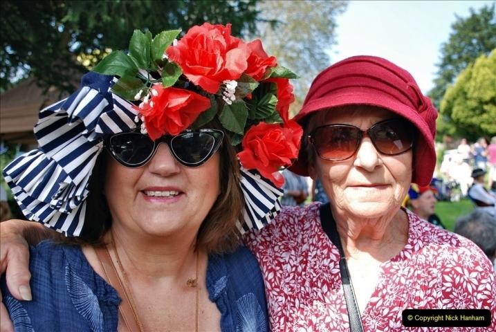 2021-09-04 Bridport Hat Festival. (170) On the Green. 170