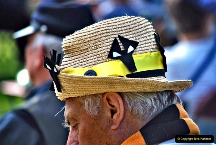 2021-09-04 Bridport Hat Festival. (171) On the Green. 171