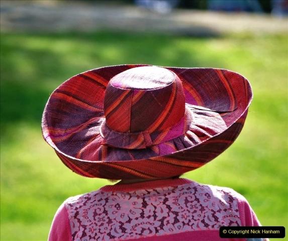 2021-09-04 Bridport Hat Festival. (172) On the Green. 172