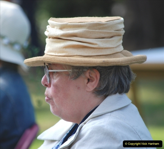 2021-09-04 Bridport Hat Festival. (174) On the Green. 174