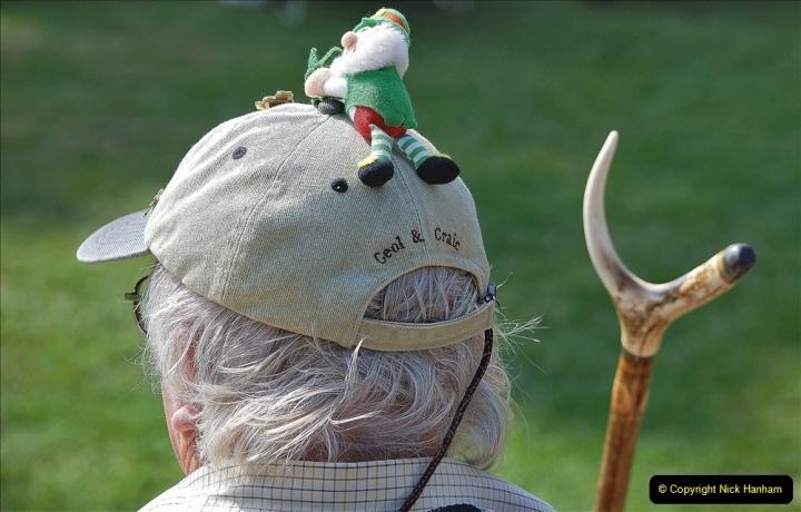 2021-09-04 Bridport Hat Festival. (175) On the Green. 175
