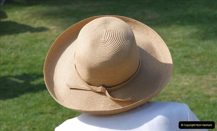 2021-09-04 Bridport Hat Festival. (176) On the Green. 176