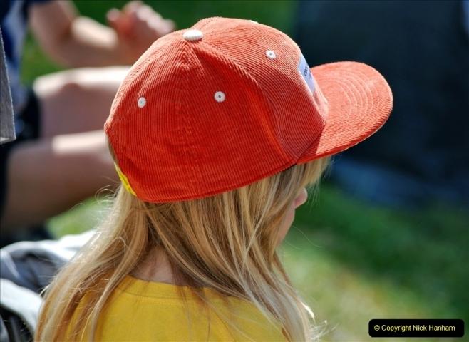 2021-09-04 Bridport Hat Festival. (177) On the Green. 177