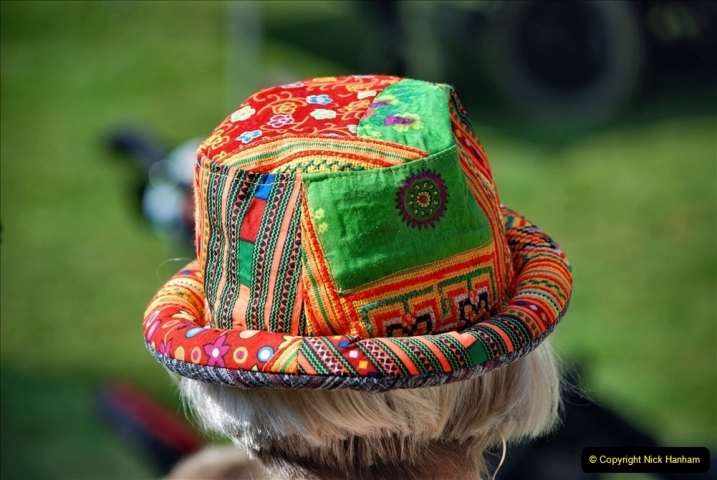 2021-09-04 Bridport Hat Festival. (178) On the Green. 178