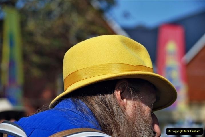 2021-09-04 Bridport Hat Festival. (183) On the Green. 183