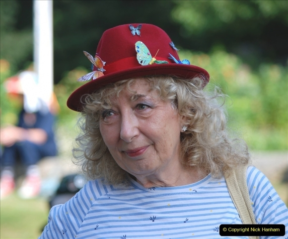 2021-09-04 Bridport Hat Festival. (185) On the Green. 185