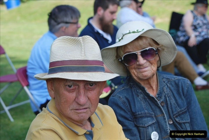 2021-09-04 Bridport Hat Festival. (187) On the Green. 187