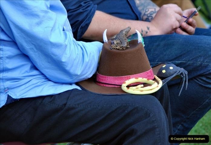 2021-09-04 Bridport Hat Festival. (188) On the Green. 188