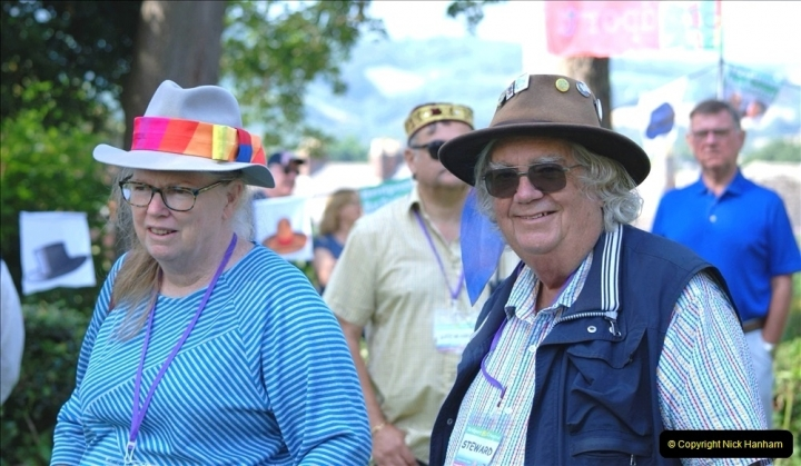 2021-09-04 Bridport Hat Festival. (189) On the Green. 189