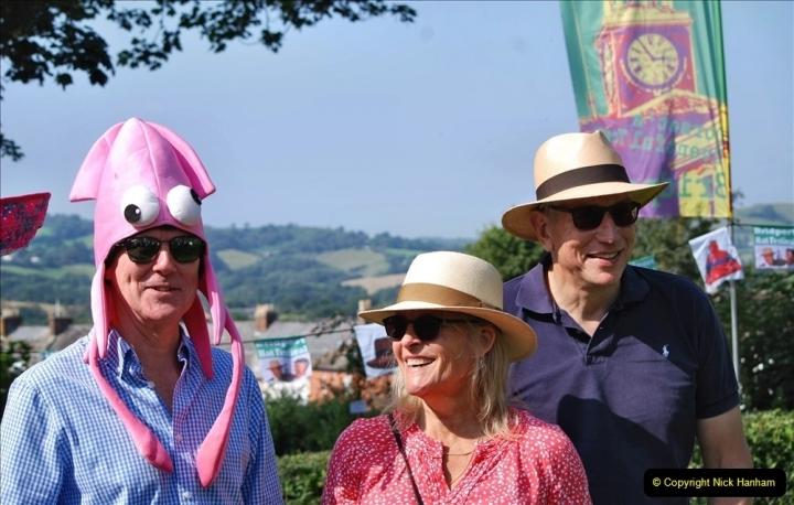 2021-09-04 Bridport Hat Festival. (191) On the Green. 191