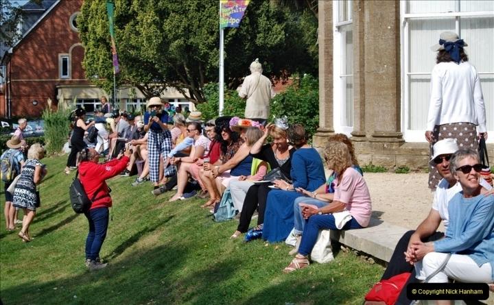 2021-09-04 Bridport Hat Festival. (194) On the Green. 194