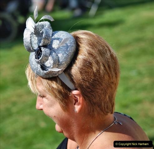 2021-09-04 Bridport Hat Festival. (197) On the Green. 197