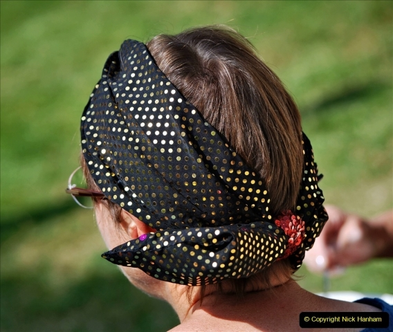 2021-09-04 Bridport Hat Festival. (198) On the Green. 198