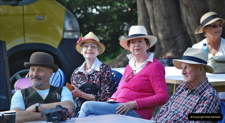 2021-09-04 Bridport Hat Festival. (199) On the Green. 199